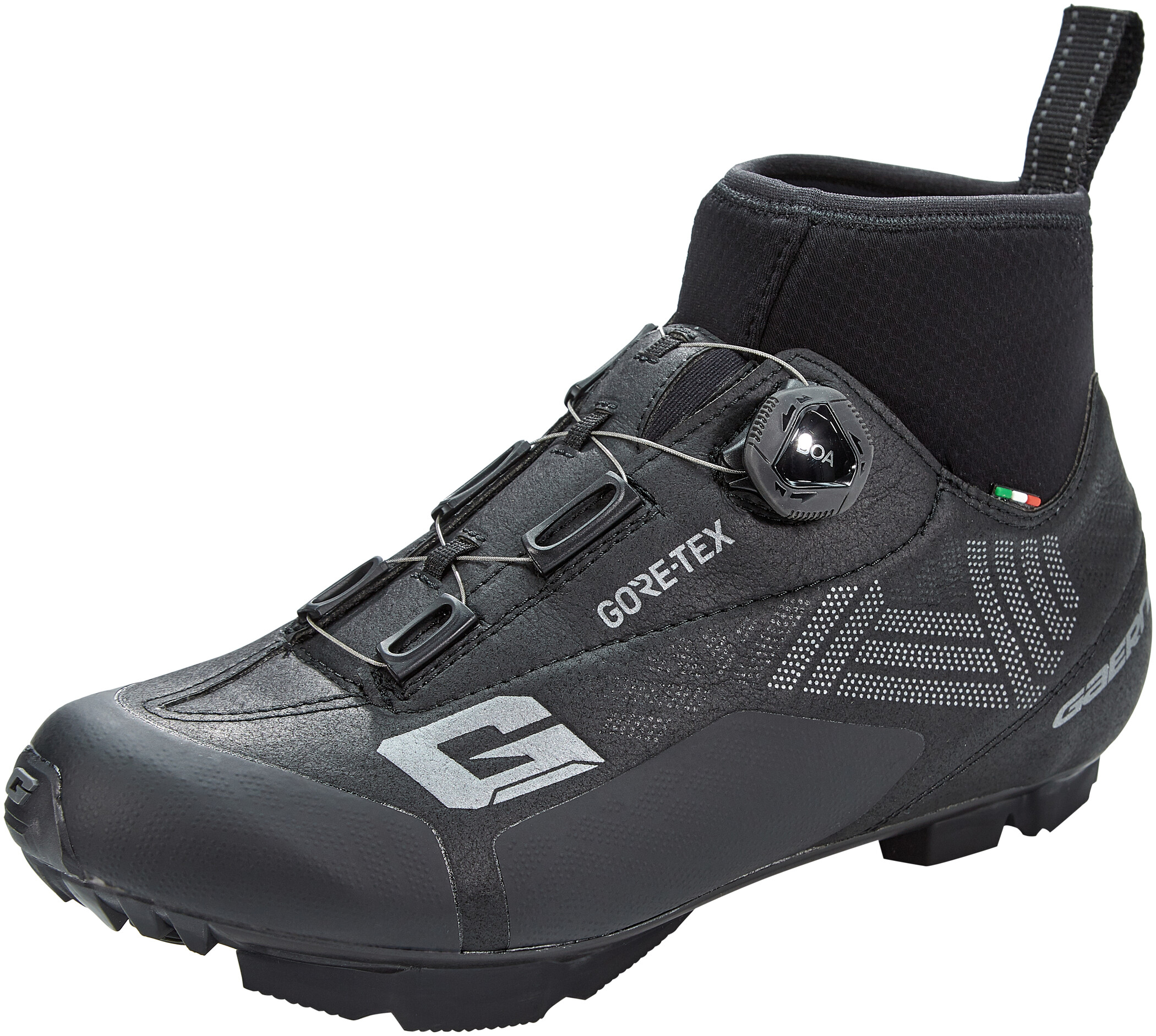 Gaerne G.Ice-Storm MTB Gore-Tex Cykelsko Herrer, black (2019) | Shoes and overlays