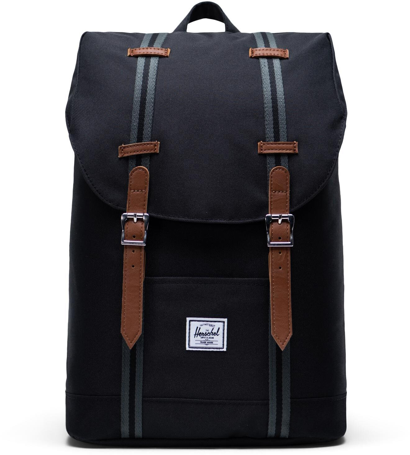 Herschel Retreat Mid-Volume Rygsæk 14l, black/black/tan (2019) | Travel bags