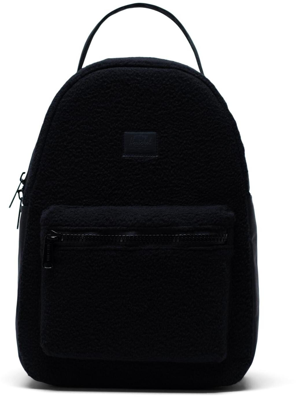 Herschel Nova Small Rygsæk 14l, black sherpa fleece (2019) | Travel bags