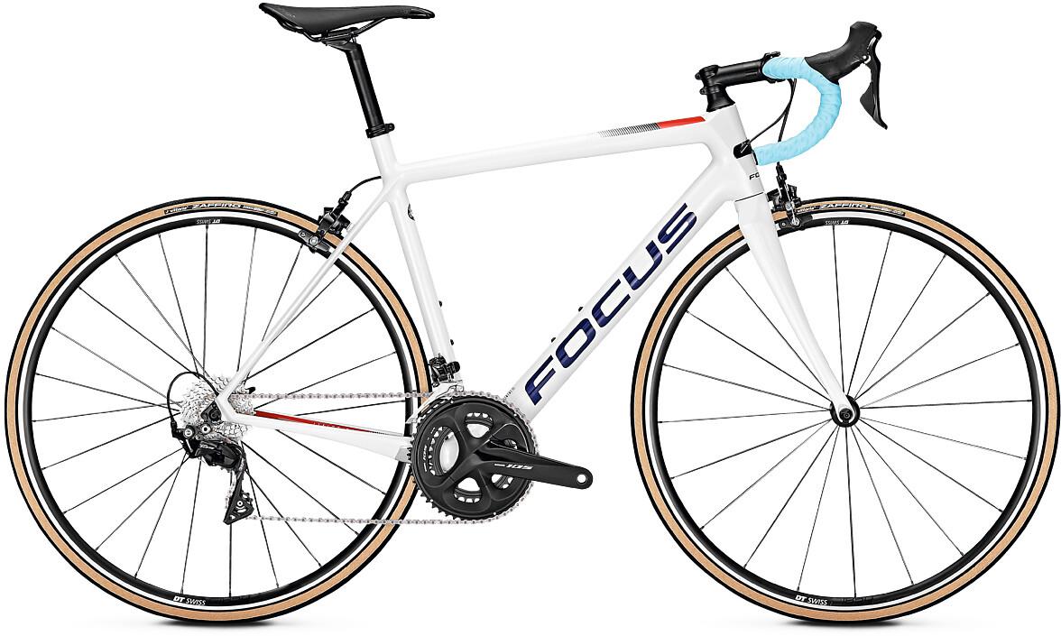 FOCUS Izalco Race 9.7, white (2020) | Road bikes