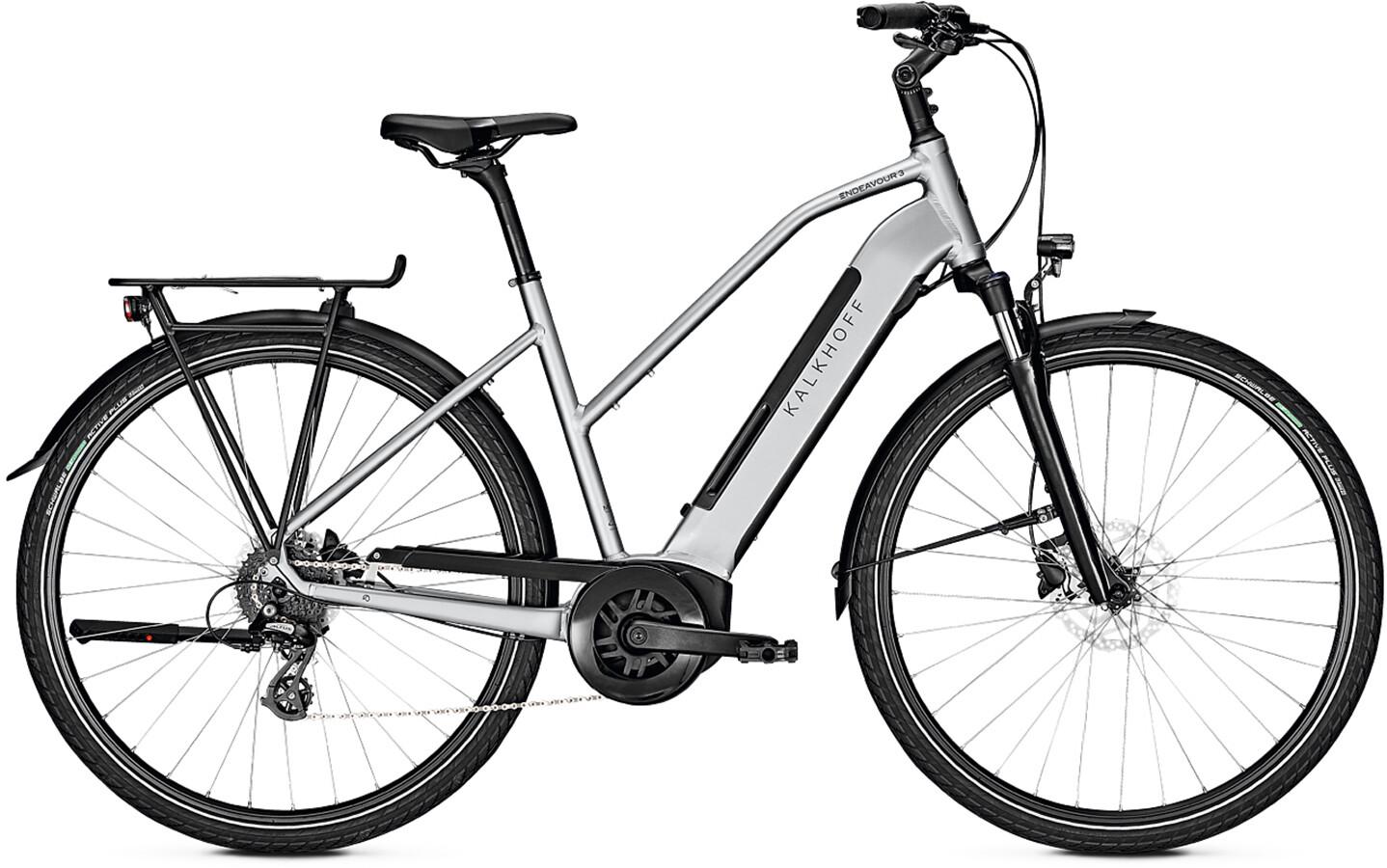 Kalkhoff Endeavour 3.B Move Trapeze 400Wh, smoke silver glossy | City-cykler