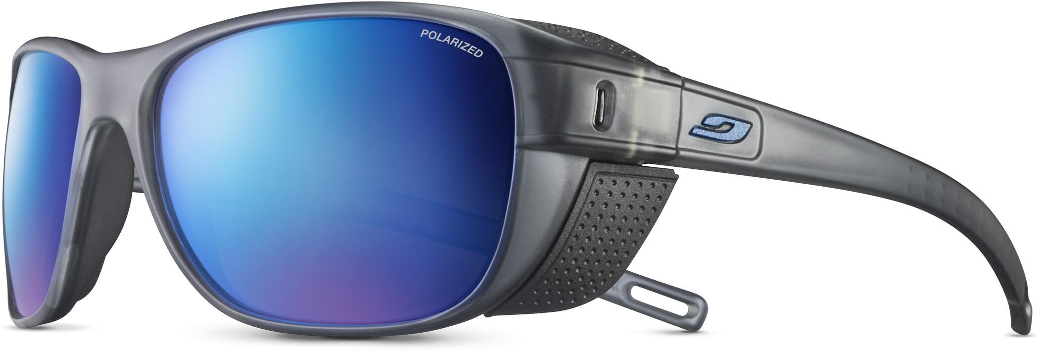 Julbo Camino Polarized 3CF Solbriller, matt black/black/grey flash blue (2020) | Glasses