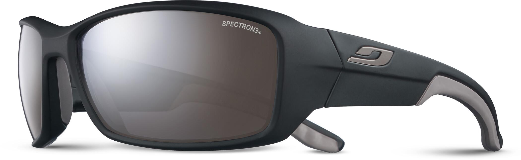 Julbo Run Spectron 3+ Solbriller Herrer, matt black/grey/grey flash silver (2020) | Glasses