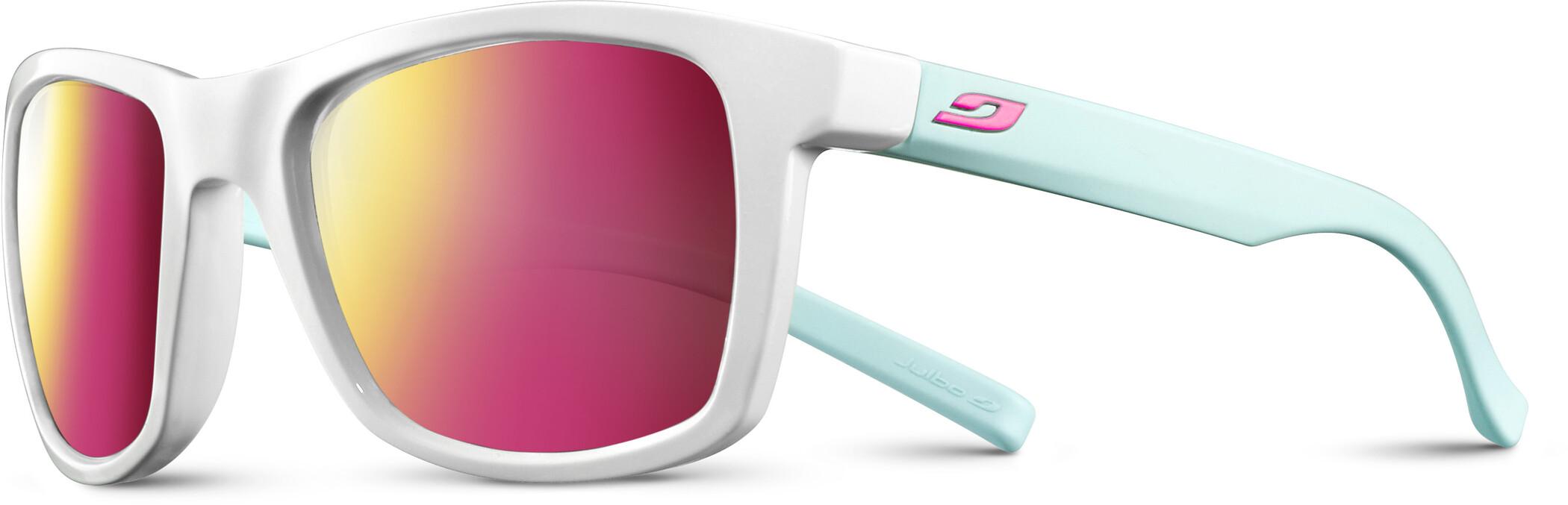 Julbo Beach Spectron 3CF Solbriller Herrer, shiny white/blue/multilayer rosa (2020) | Glasses