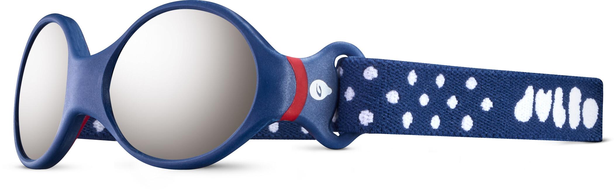 Julbo Loop S Spectron 4 Solbriller Børn, dark blue/red/grey flash silver (2020)   Briller