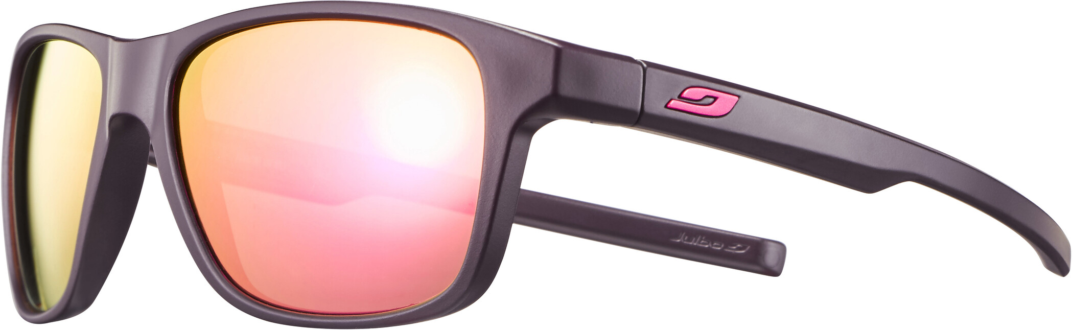 Julbo Cruiser Spectron 3CF Solbriller, matt aubergine/multilayer rosa (2020) | Glasses
