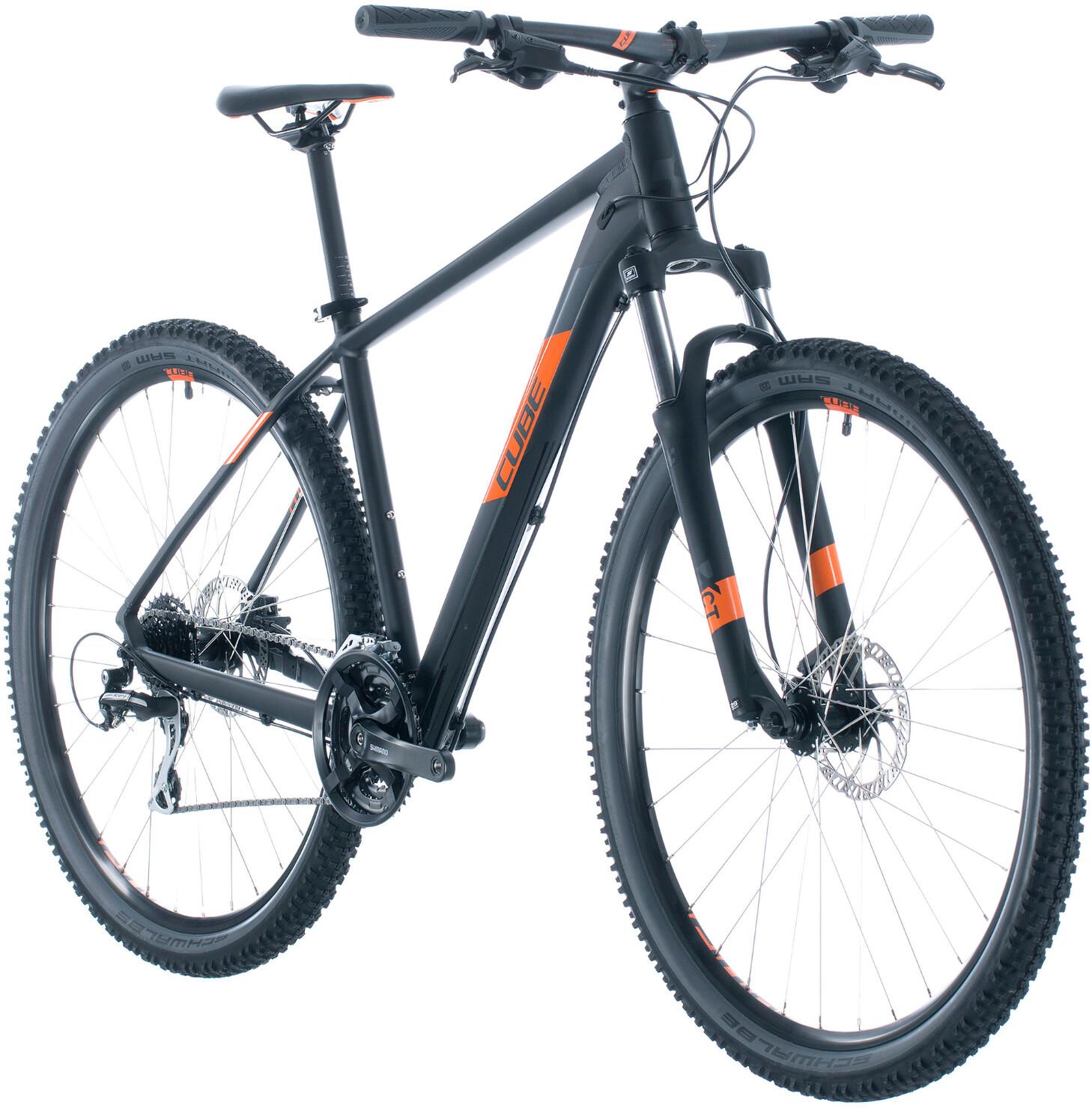 Cube Aim Pro, black/orange | Mountainbikes