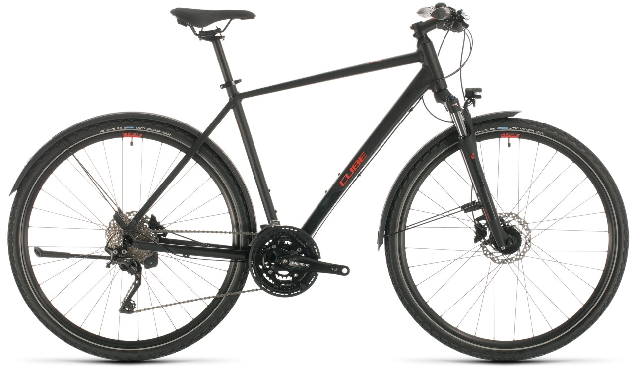 Cube Nature EXC Allroad, black/red (2020)   City