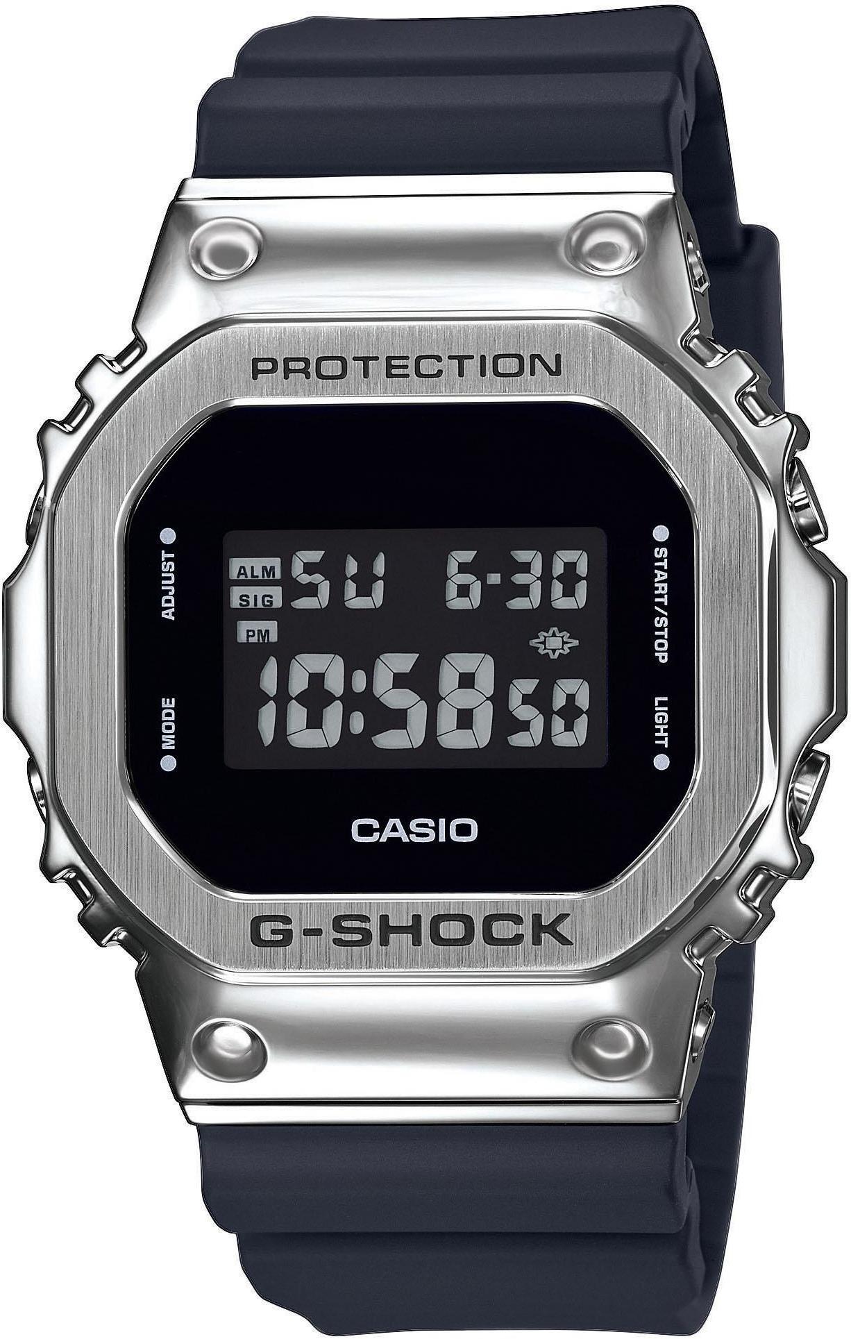 CASIO G-SHOCK The Origin GM-5600-1ER Ur Herrer, black/silver (2019)   Sports watches