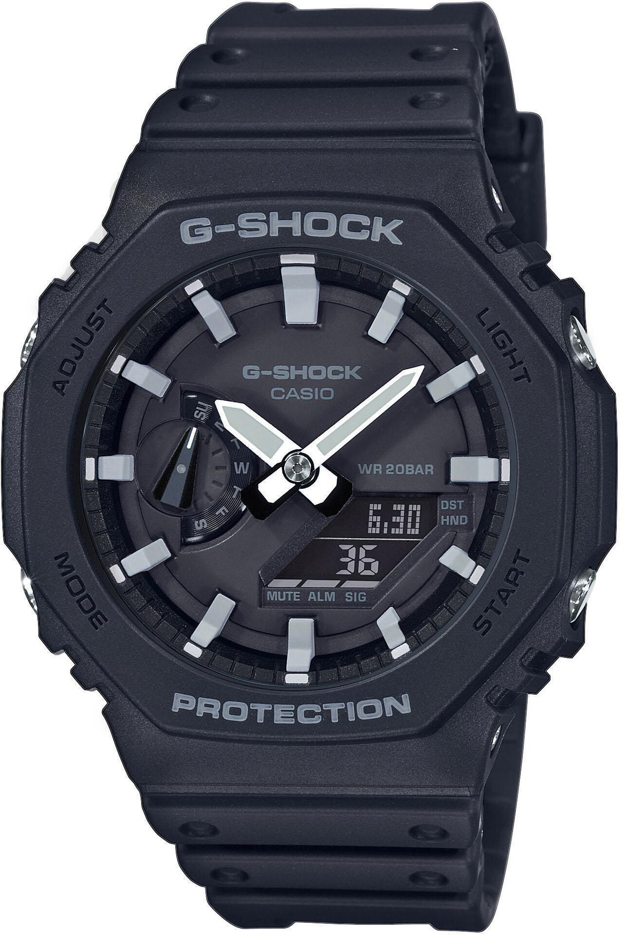 CASIO G-SHOCK Classic GA-2100-1AER Watch Men, black   Sports watches