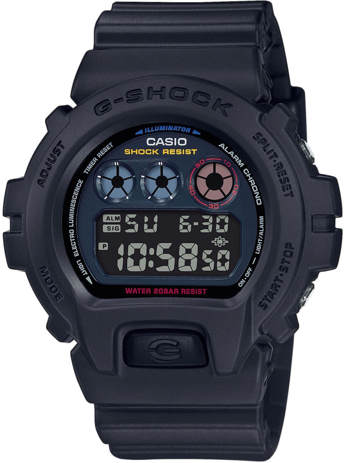 CASIO G-SHOCK Classic DW-6900BMC-1ER Ur Herrer, black (2019)   Sports watches