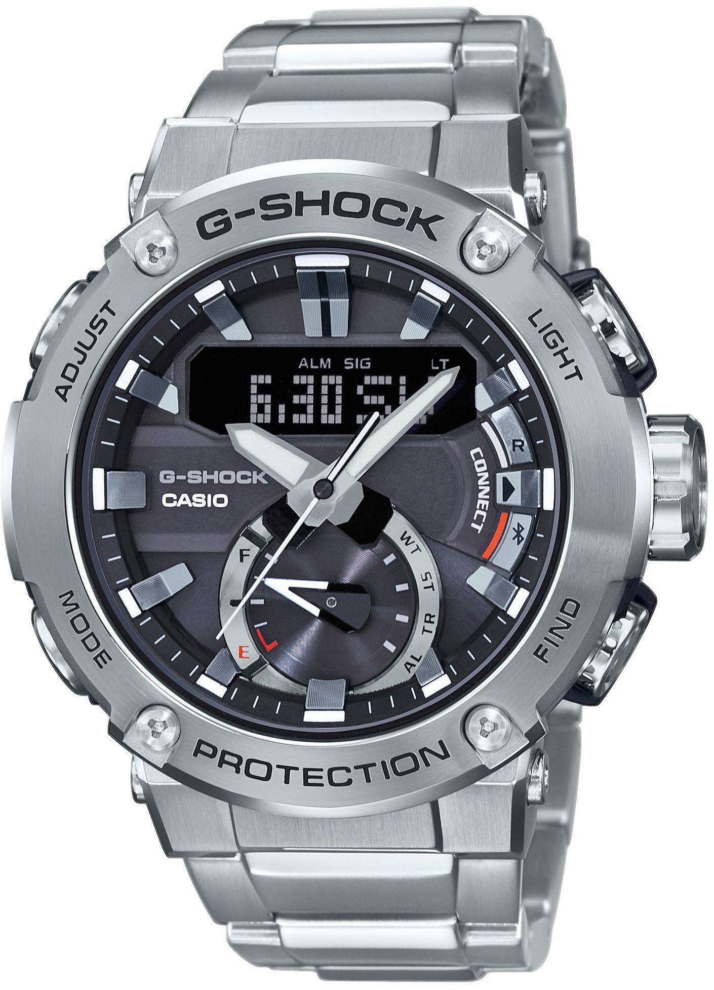 CASIO G-SHOCK G-Steel GST-B200D-1AER Ur Herrer, silver (2019)   Sports watches