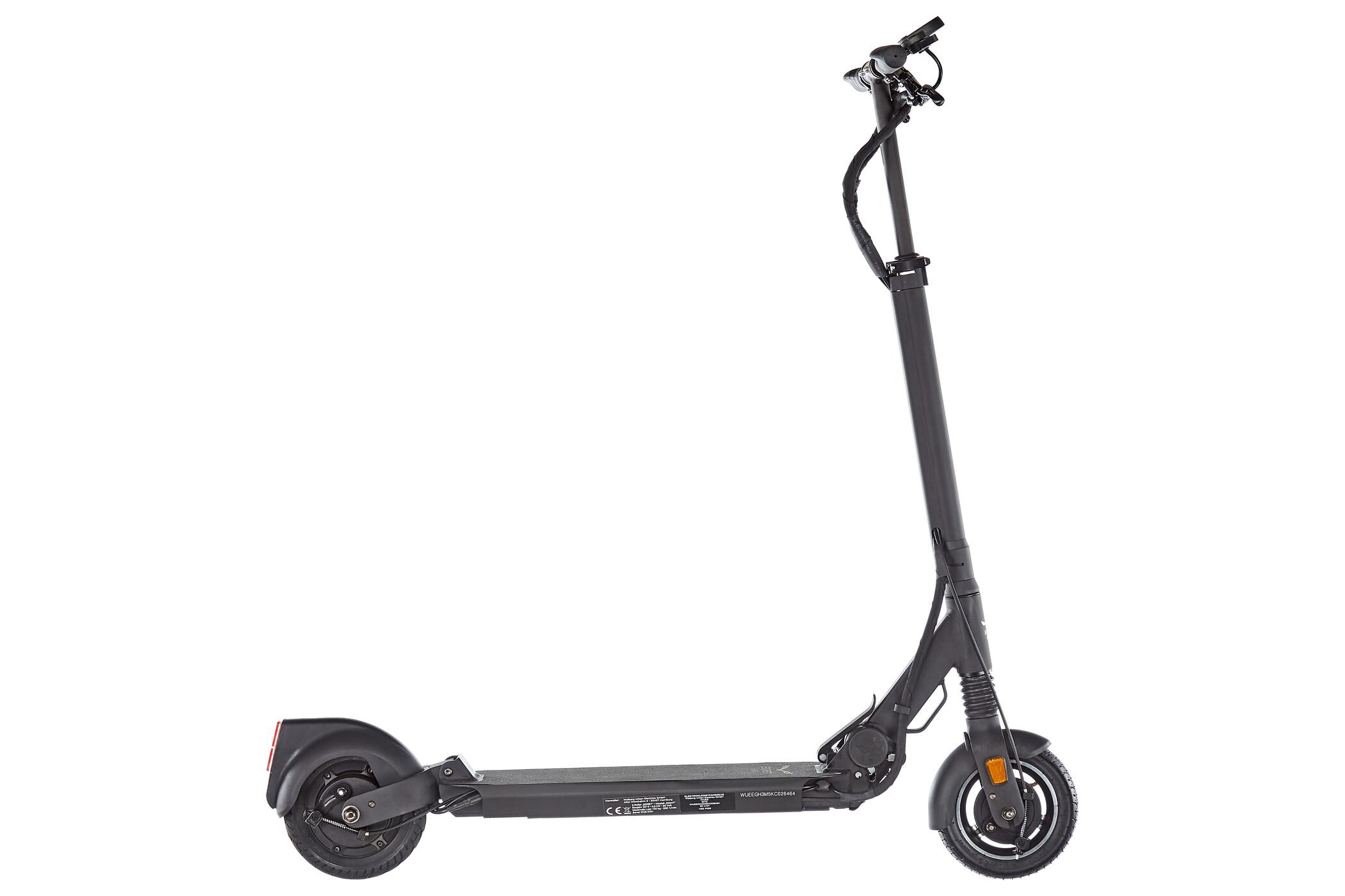 EGRET Eight V3 E-scooter, black (2020) | Dæk