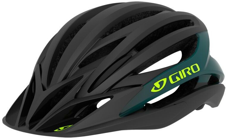 Giro Artex MIPS Cykelhjelm, matte black/true spruce (2020) | Helmets