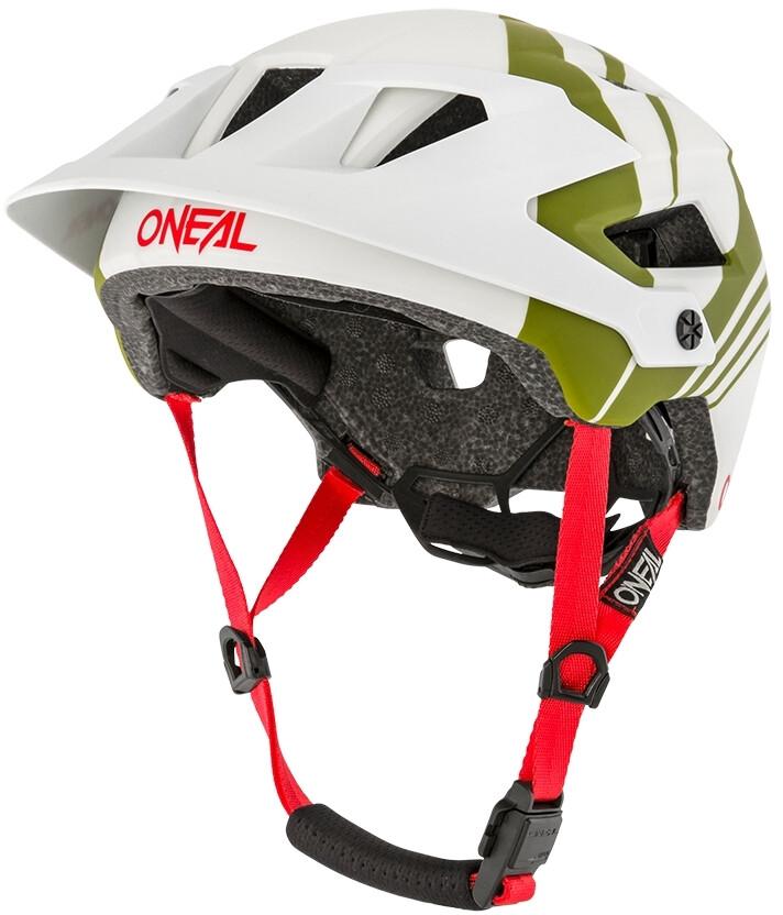 O'Neal Defender 2.0 Cykelhjelm, nova gray/olive (2020) | Hjelme