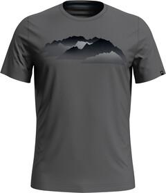 Odlo Herren Bl Top Crew Neck S//S Nikko 100/% Merino Print T-Shirt