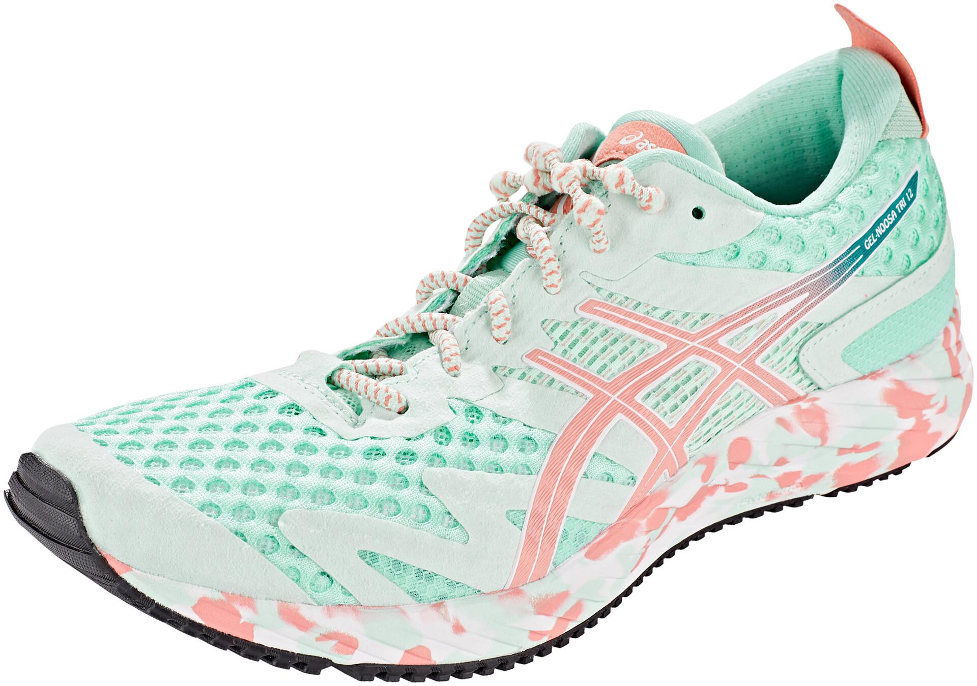 Asics Damen Gel-Noosa Tri 12 Turnschuhe Laufschuhe Sneaker Schuhe Blau Grün