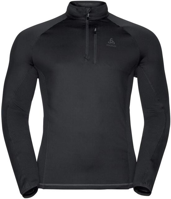Odlo Herren Midlayer 1//2 Zip Prochute Pullover /& Sweatshirts