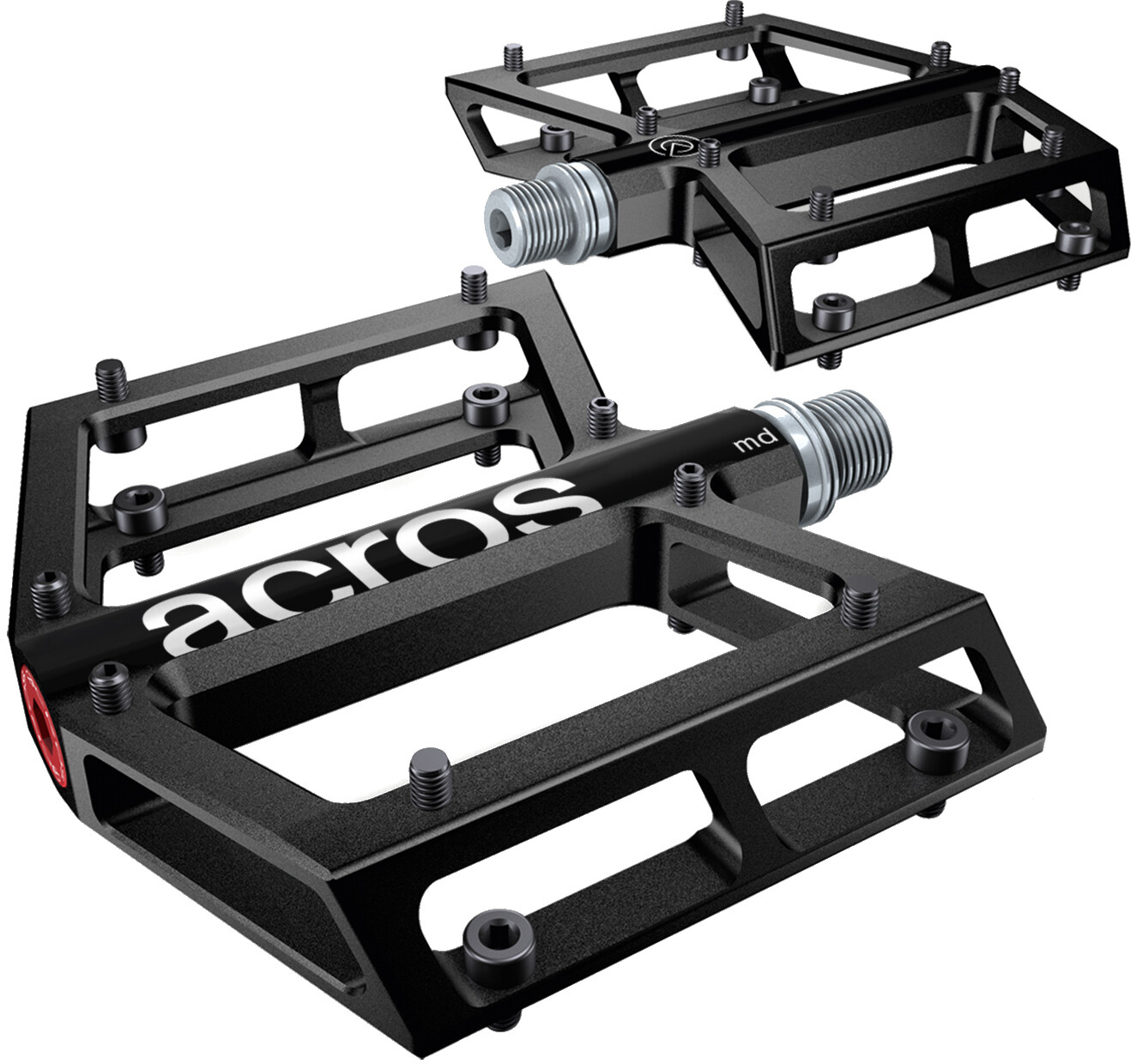 ACROS Acros A-Flat MD Pedals | Pedaler