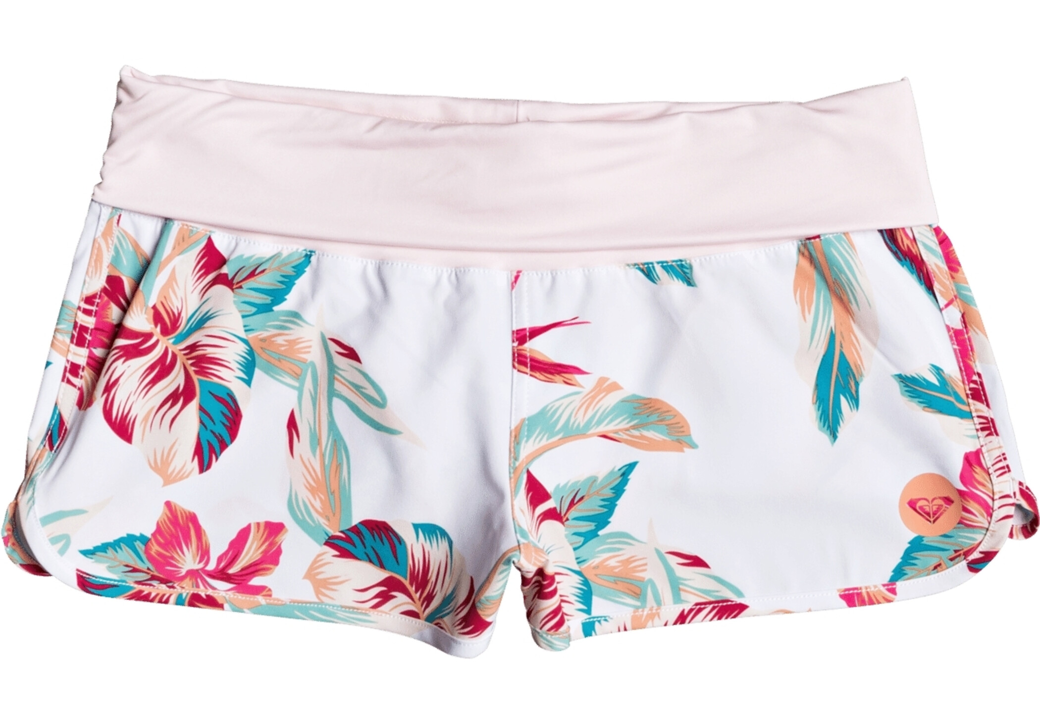 Roxy Endless Summer Printed Pantalones Cortos Mujer Bright White Tropic Call S Campz Es