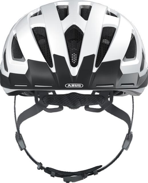 Large, Polar Matte White Abus Urban-I 2.0 Bike Helmet