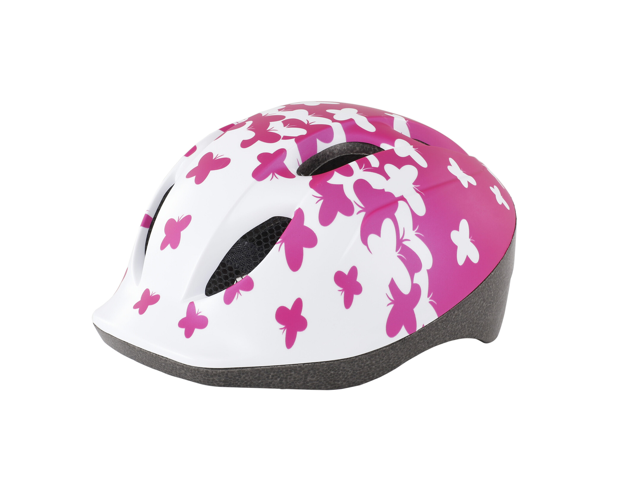 MET Buddy Cykelhjelm Børn, pink butterflies (2019) | Helmets