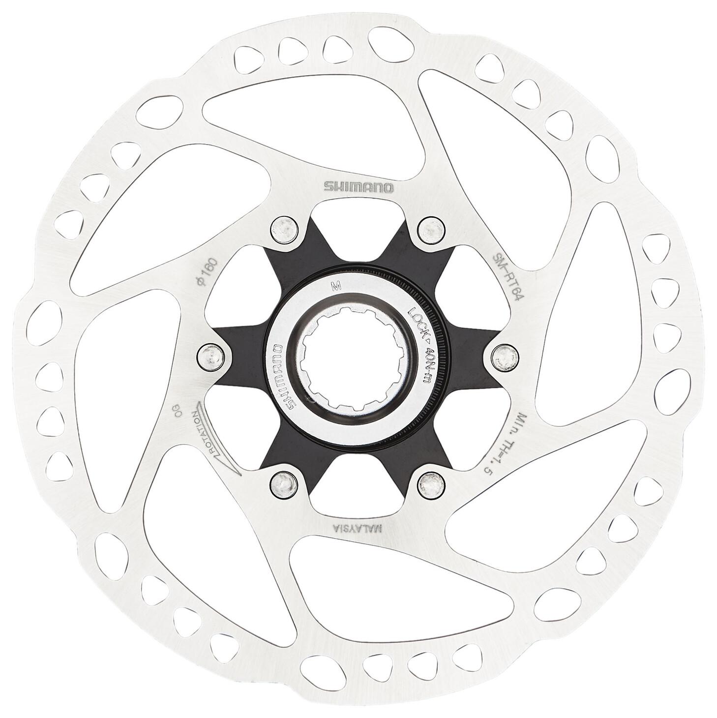 Shimano Deore SM-RT64 Bremseskive Center-Lock (2019) | Brake pads