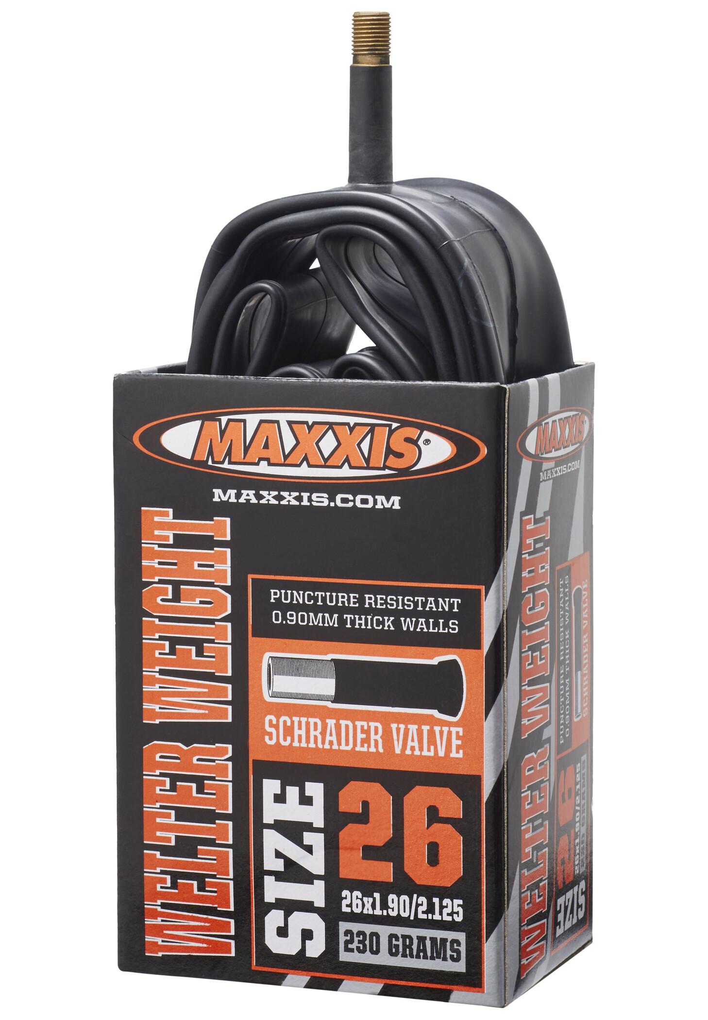 Maxxis WelterWeight Tube 26 x 1.90/2.125 AV (2019) | Tubes