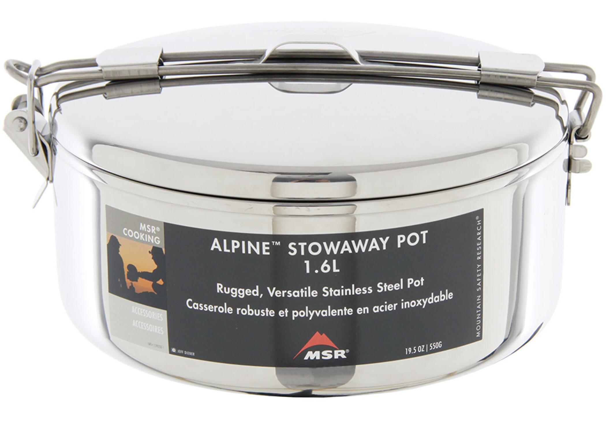 Msr Alpine Stowaway Pot 1 1l At Addnature Co Uk