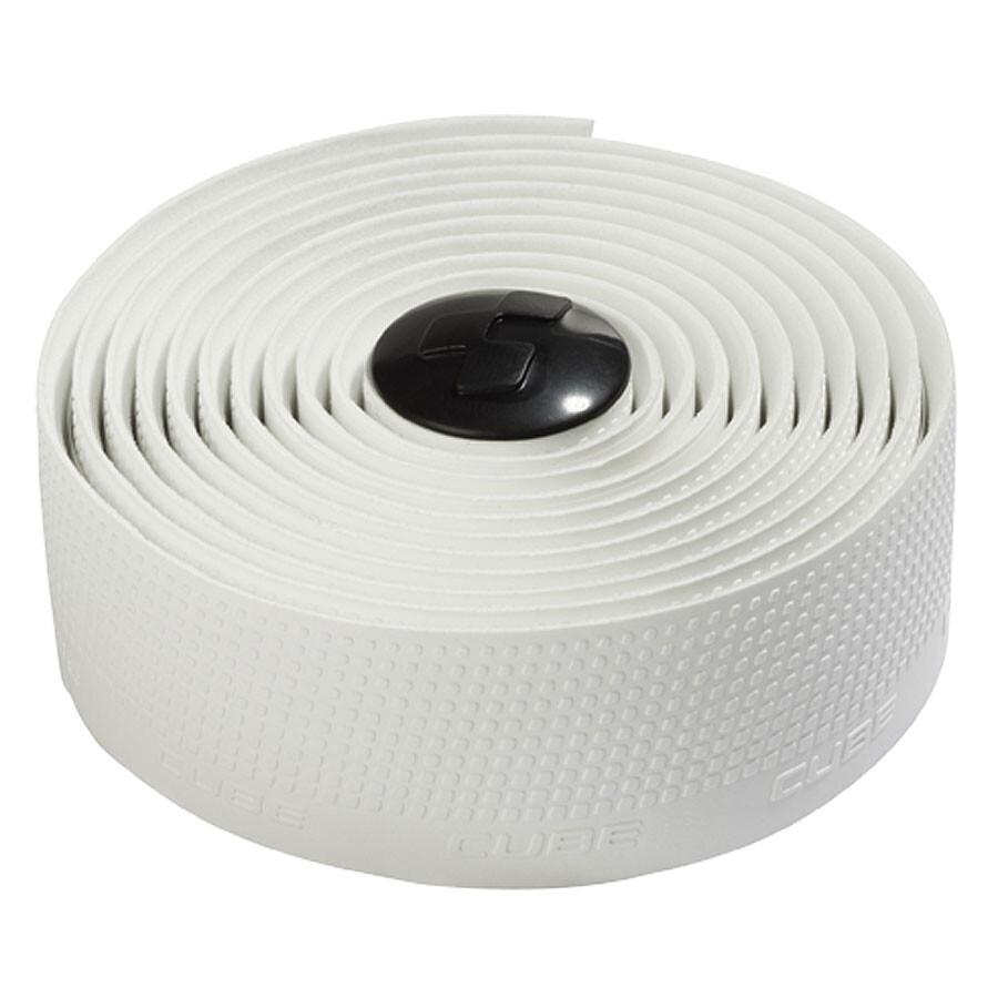 Cube Natural Fit Handlebar Tape Grip, white (2020)   Bar tape