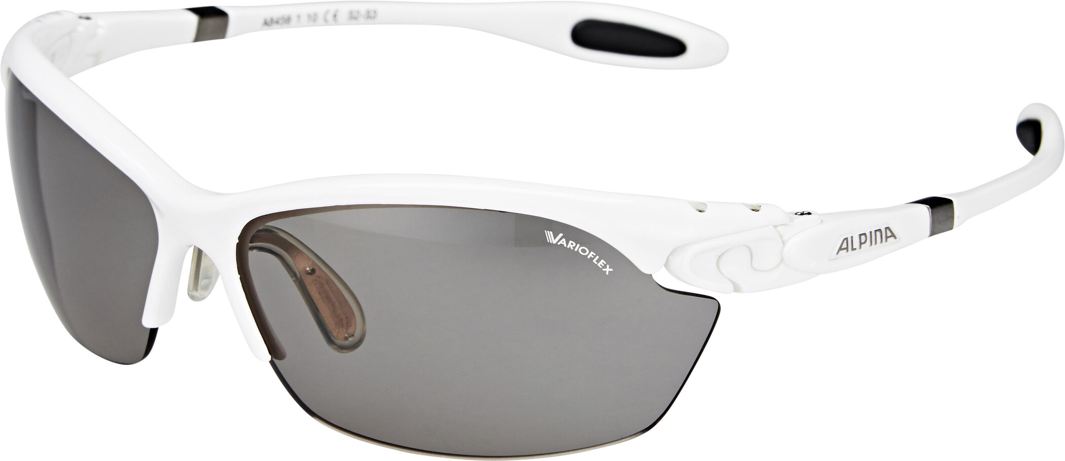 Alpina Twist Three 2.0 VL Brille, white (2019) | Glasses