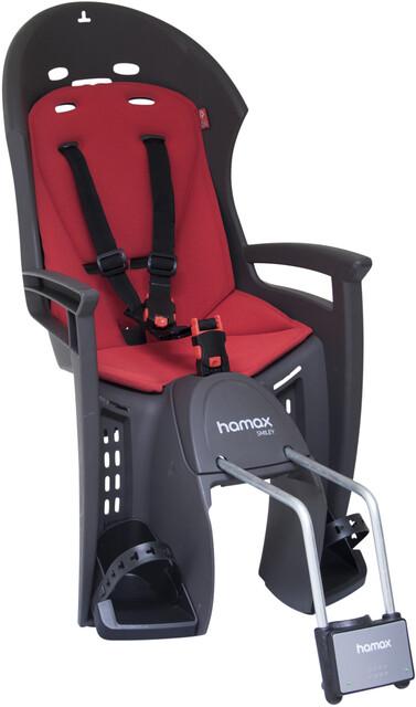 Fahrrad Kindersitz Hamax Zenith Gep/äcktr grau//schwarz Gep/äcktr/ägerbefestigung