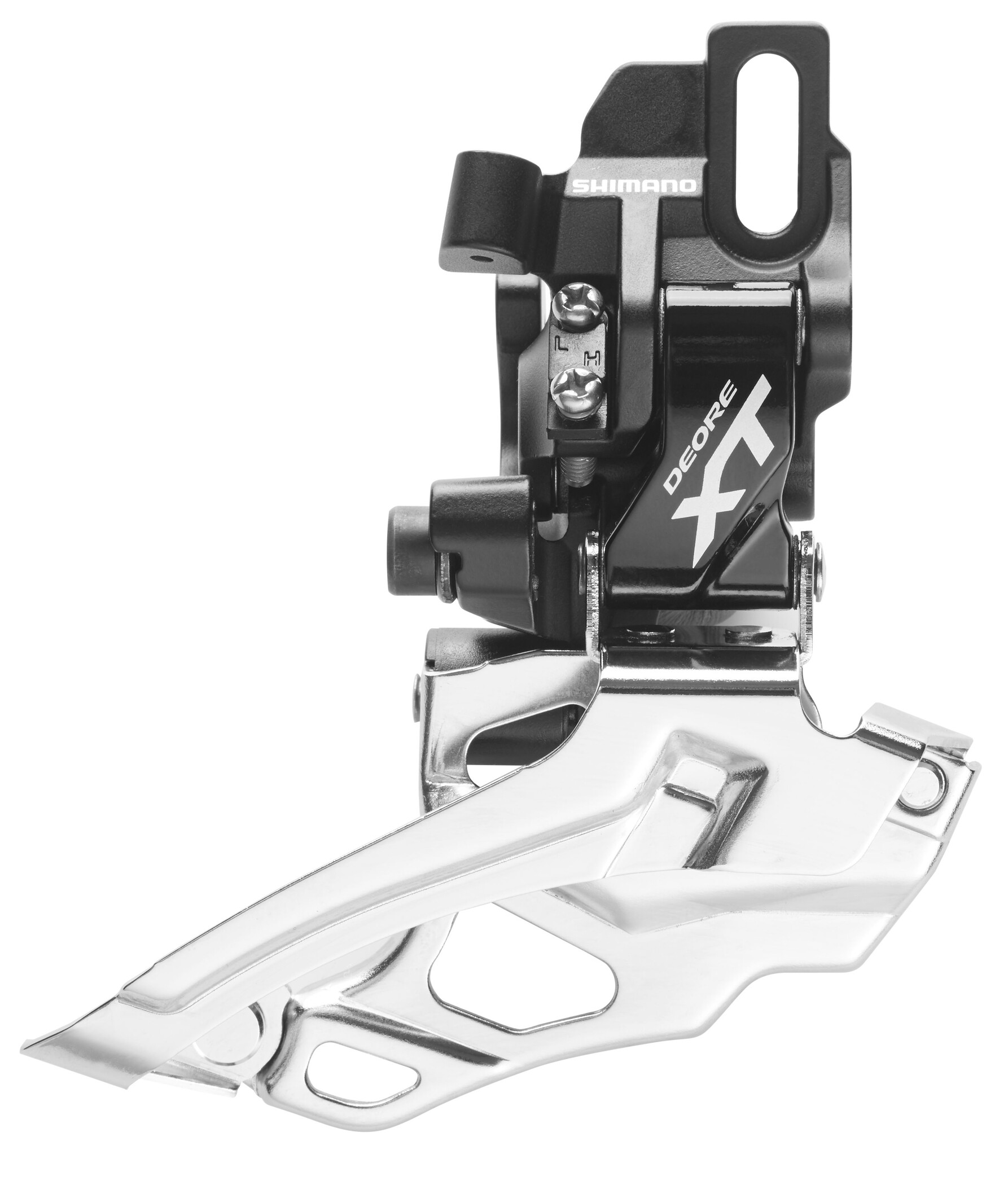 Shimano Deore XT FD-786 Forskifter 2-speed dual pull, black (2019) | Front derailleur