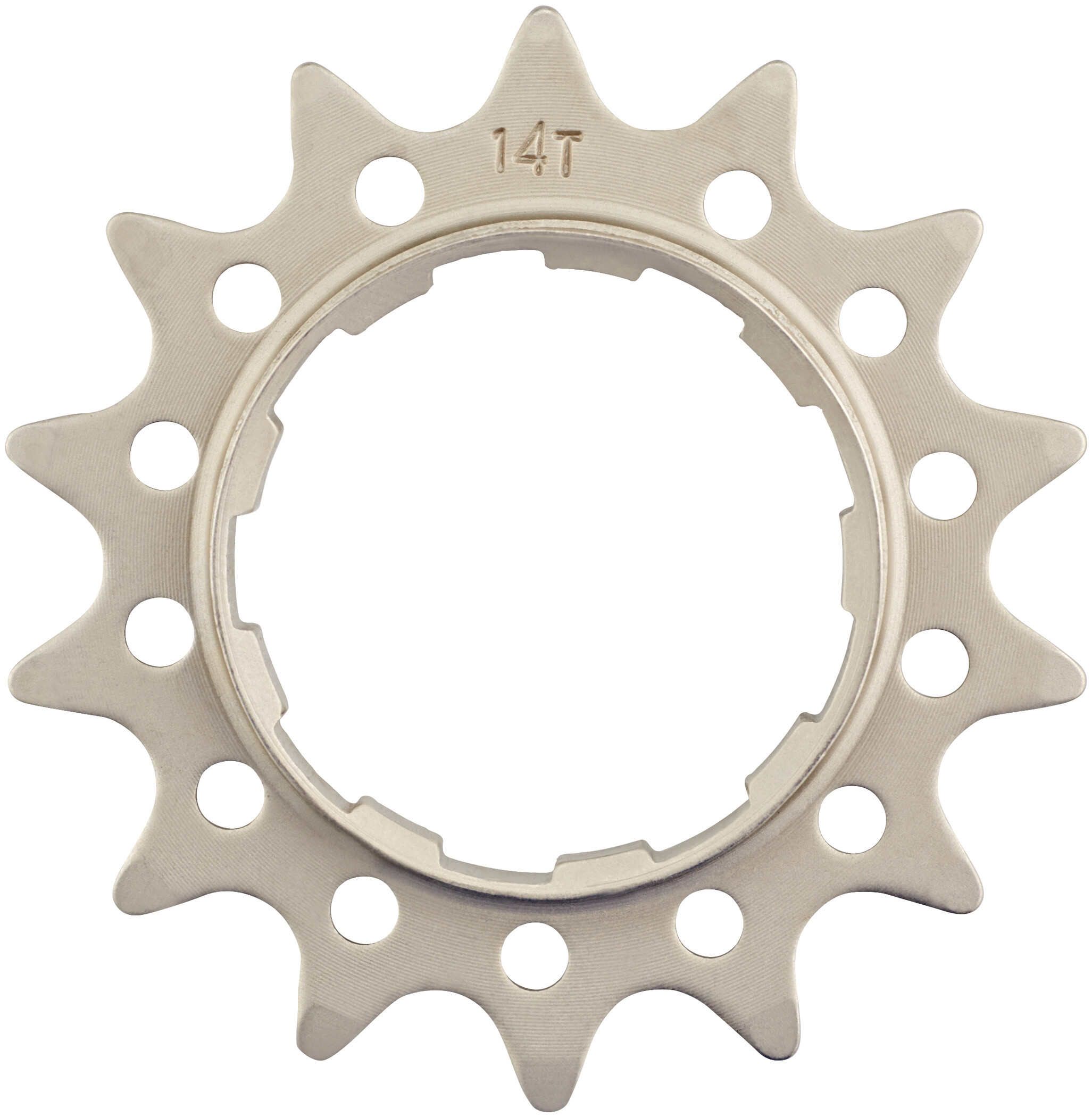 Reverse Single Speed Sprocket extra strong, light silver | Freewheels