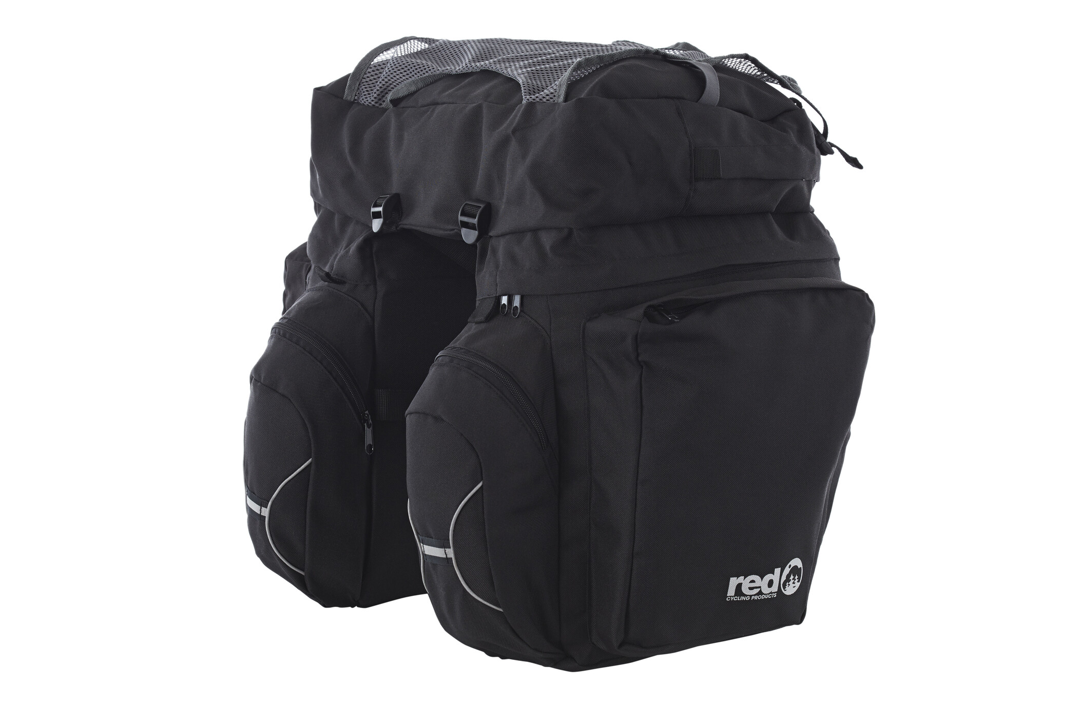Red Cycling Products Touring Set Sidetasker, black (2019) | Rack bags