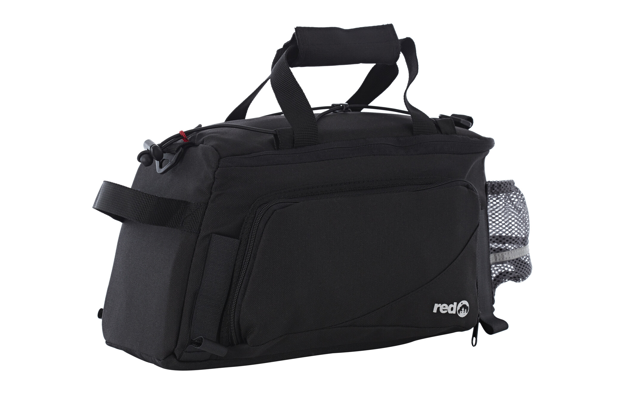Red Cycling Products Back Loader Sidetasker, black (2019) | Rack bags