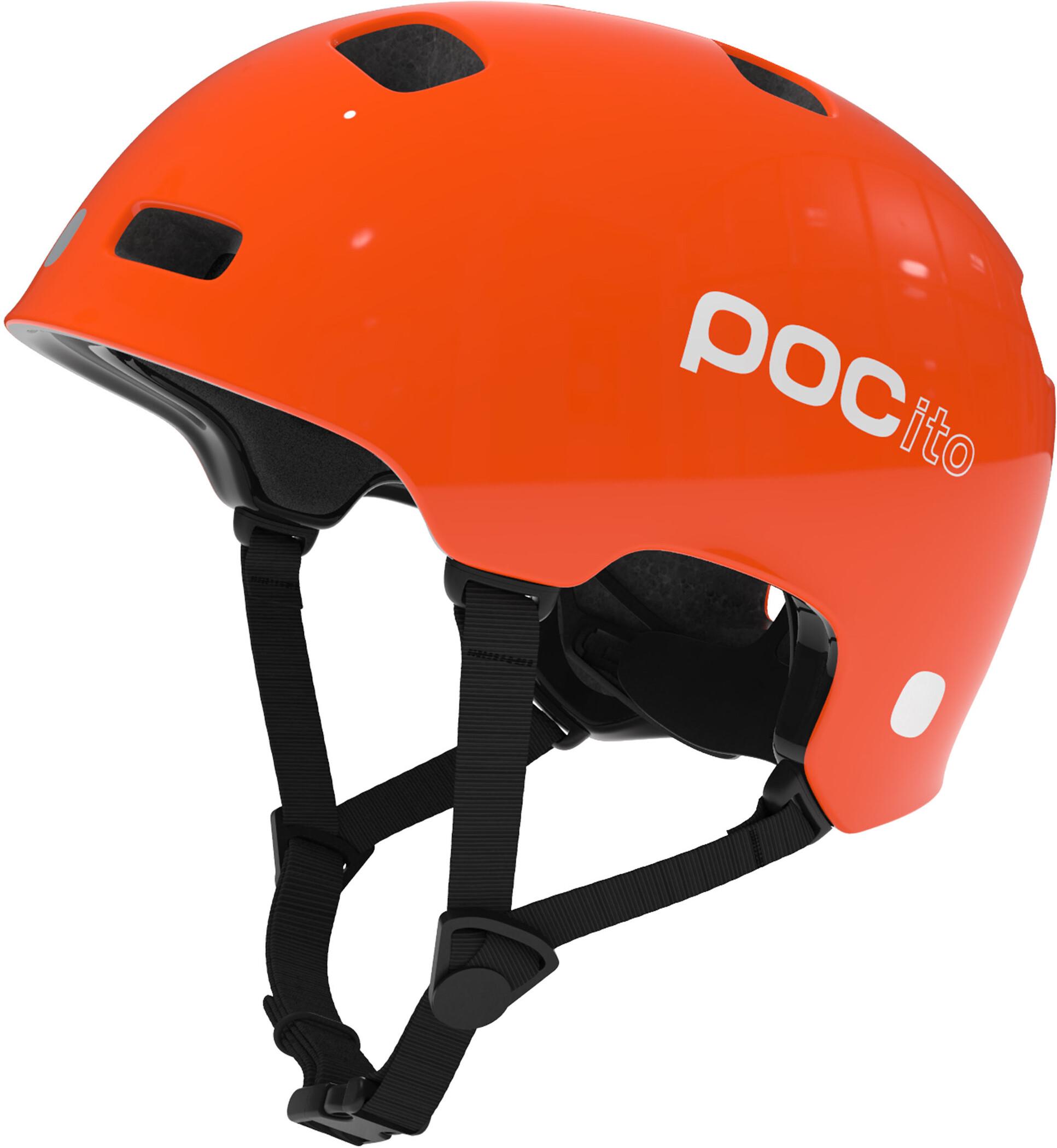 POC POCito Crane Cykelhjelm Børn, pocito orange (2020) | Helmets