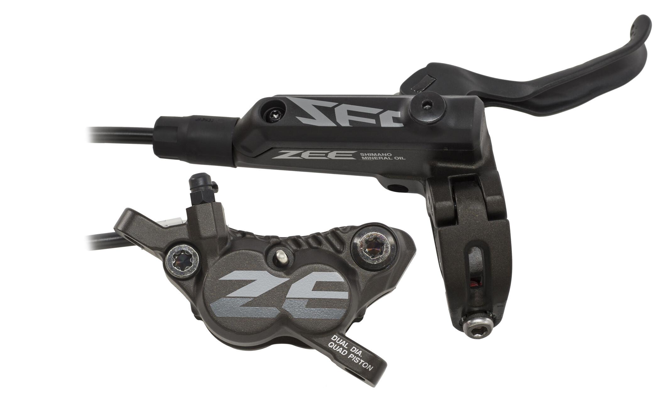 Shimano ZEE BR-M640 Skivebremse med G01S Resin, black (2019) | Brake pads
