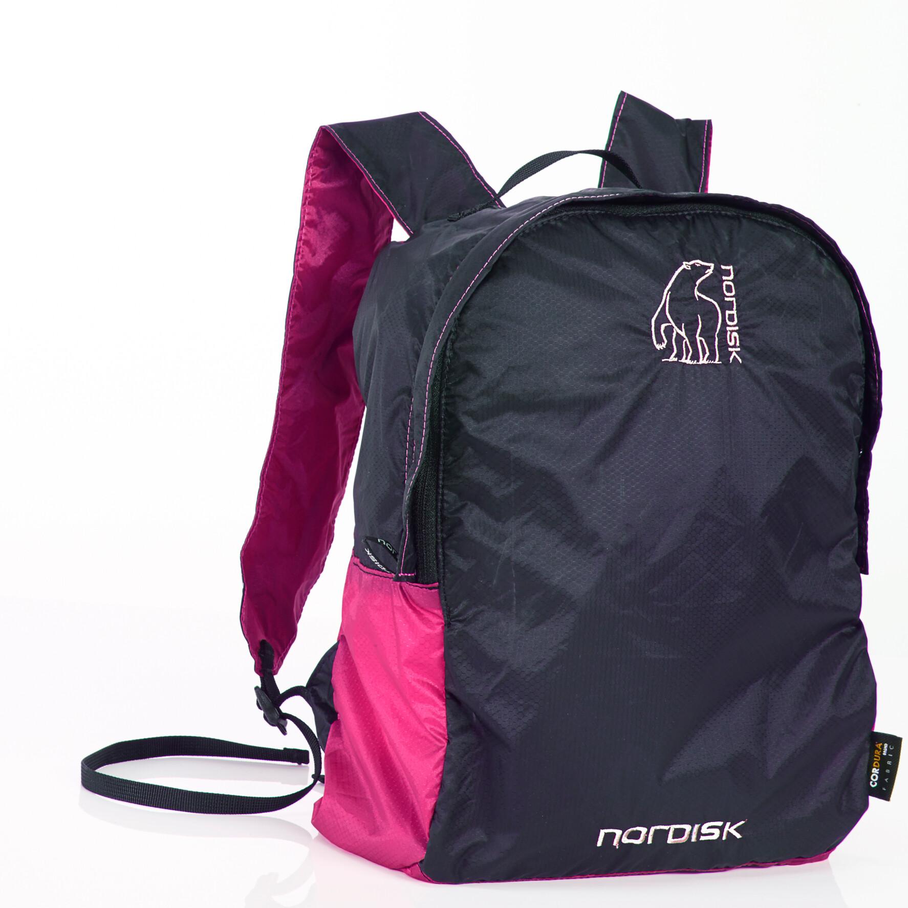 Nordisk Nibe Rygsæk 12 liter, new pink/black | Rygsæk og rejsetasker