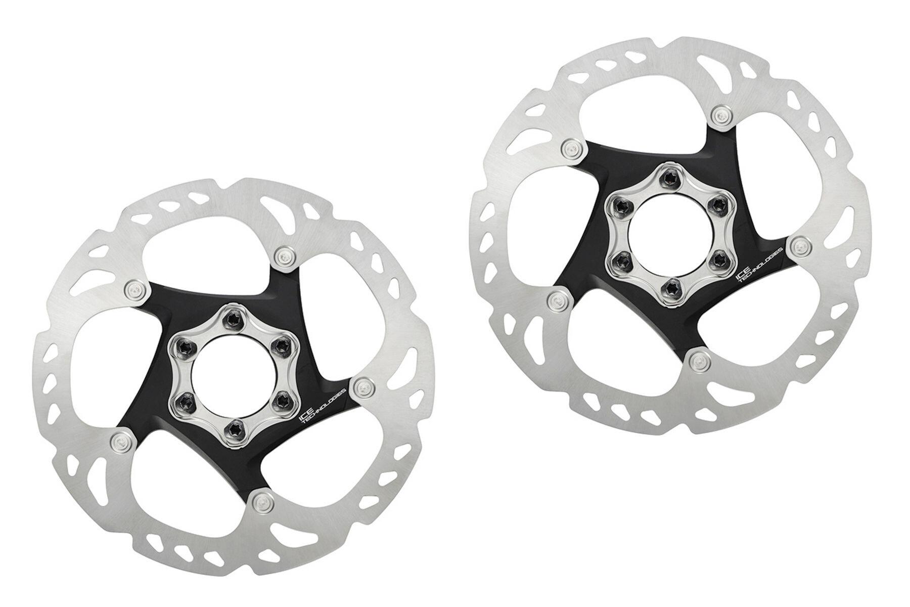 Shimano Deore XT SM-RT86 Bremseskiver ICE-Tech, 2er sæt, silver (2019) | Brake pads