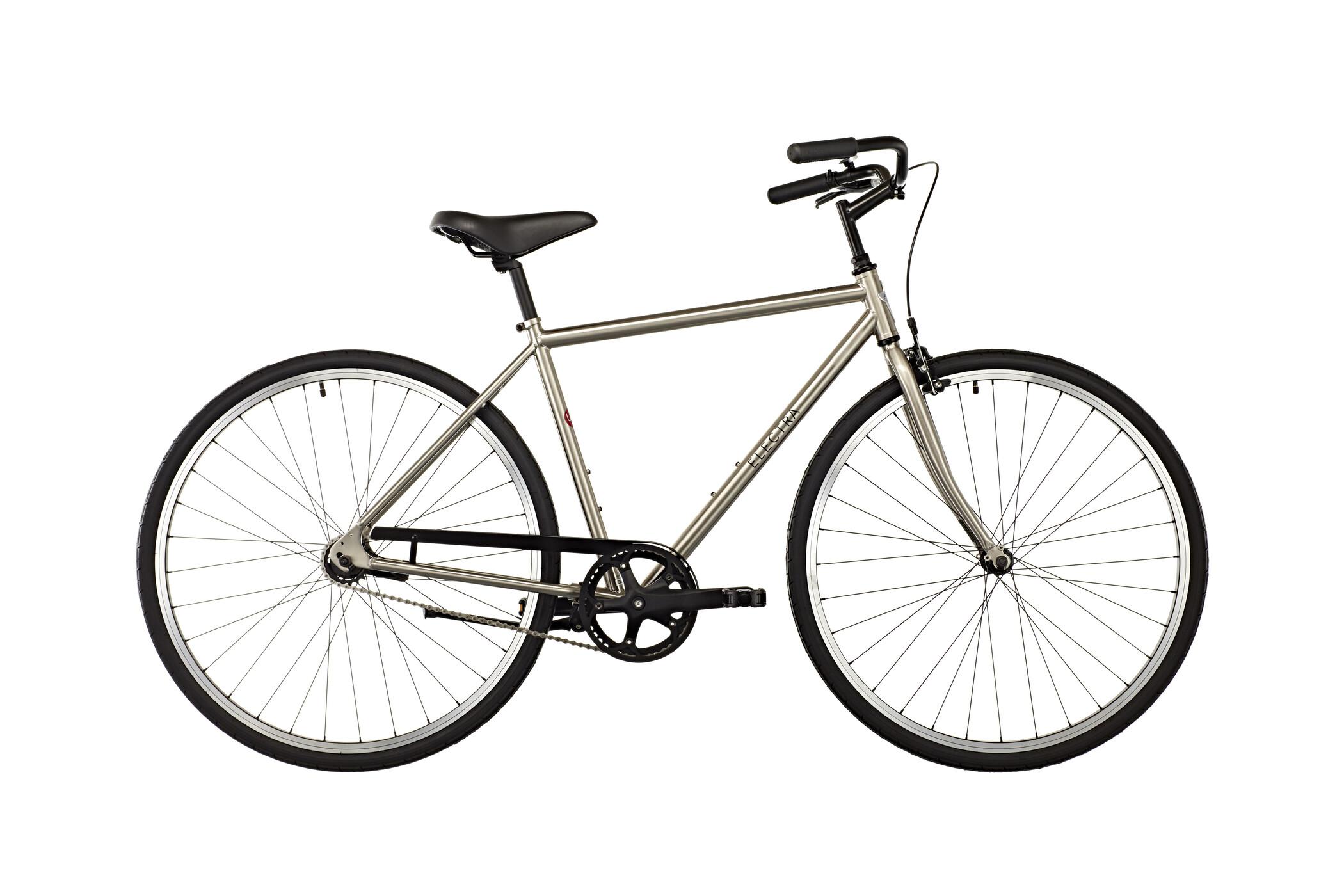 Electra Loft 1 Herre Herrer, nickel plated | City-cykler
