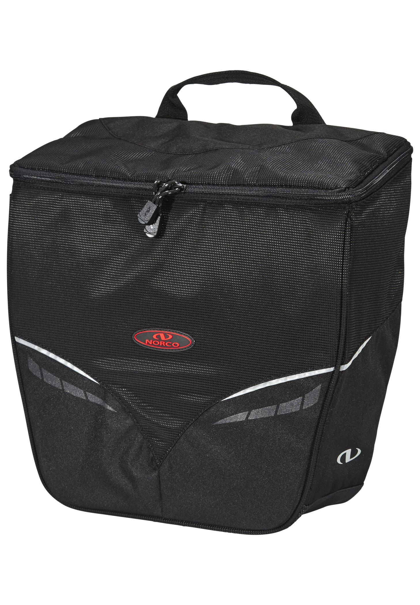 Norco Canmore City Cykeltaske, black | Tasker til bagagebærer