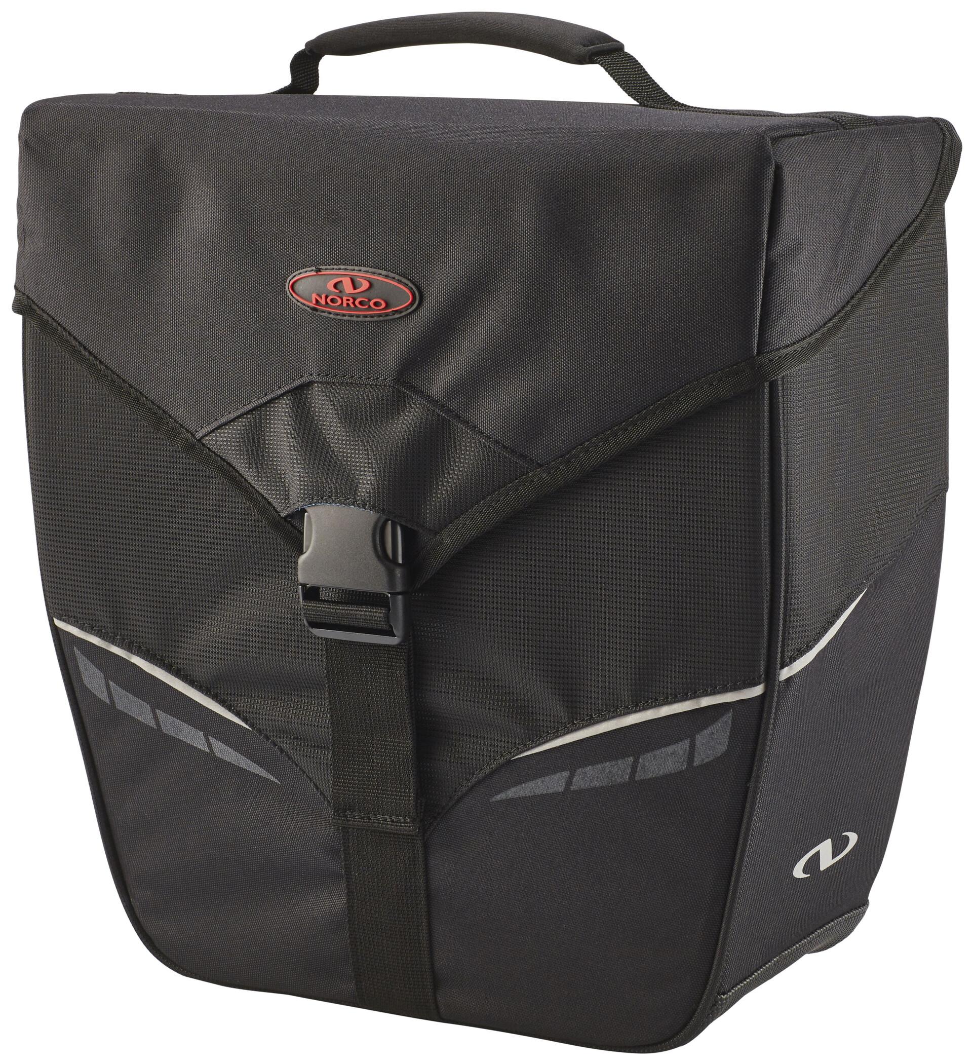 Norco Orlando City Cykeltaske, black | Tasker til bagagebærer