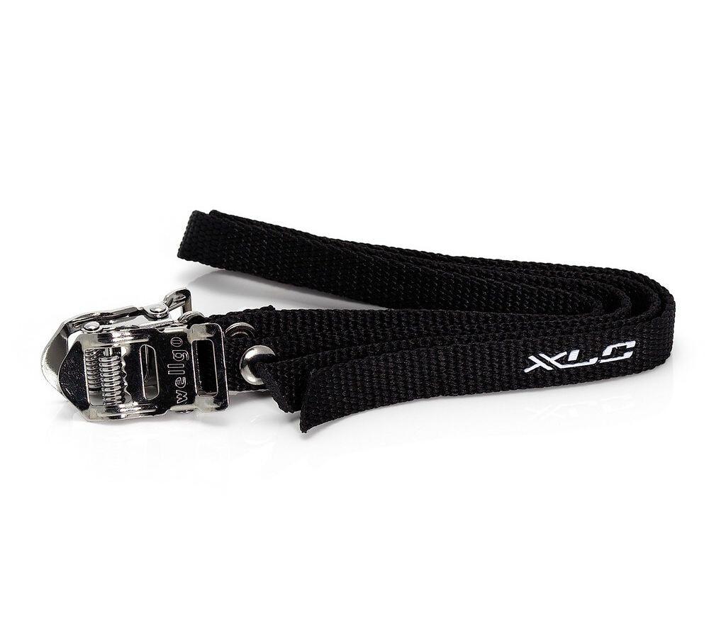 XLC Pedalstropper, black (2019) | Toe clips
