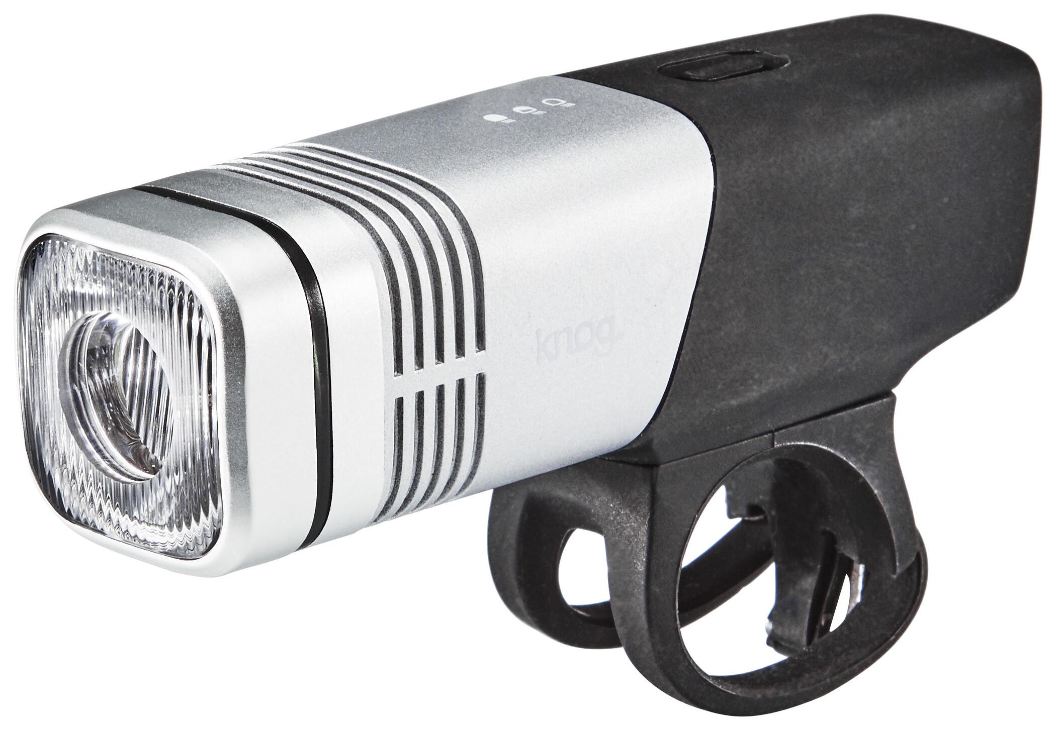 Knog Blinder Beam 300 Cykellygter sort, silver (2019)   Light Set