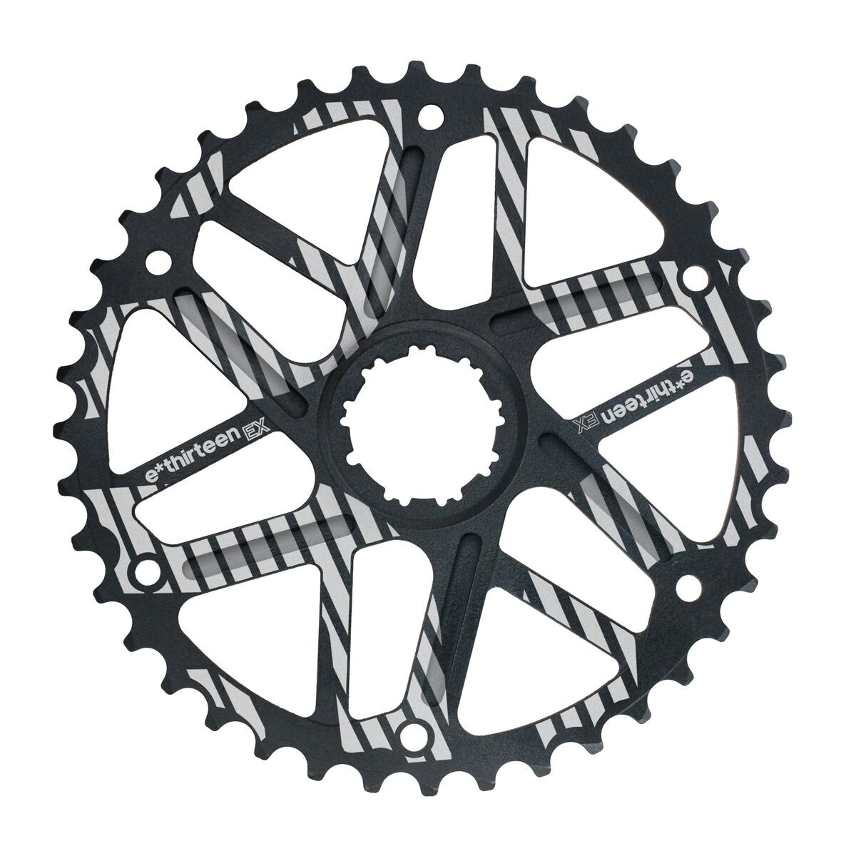 e*thirteen Extended Range Sprocket 10-speed 42 teeth for Shimano, black | chainrings_component