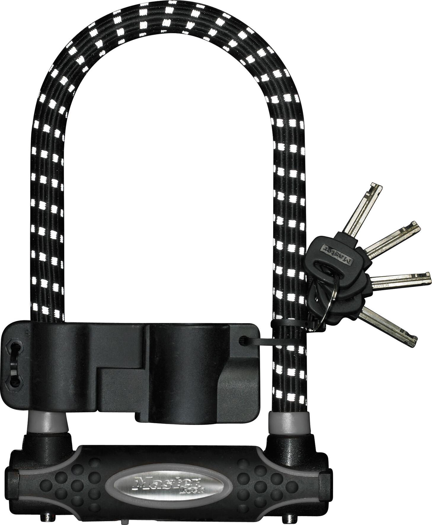 Masterlock 8195 U-Lock 13 mm x 210 mm x 110 mm, black/reflex (2019)   Løse låse