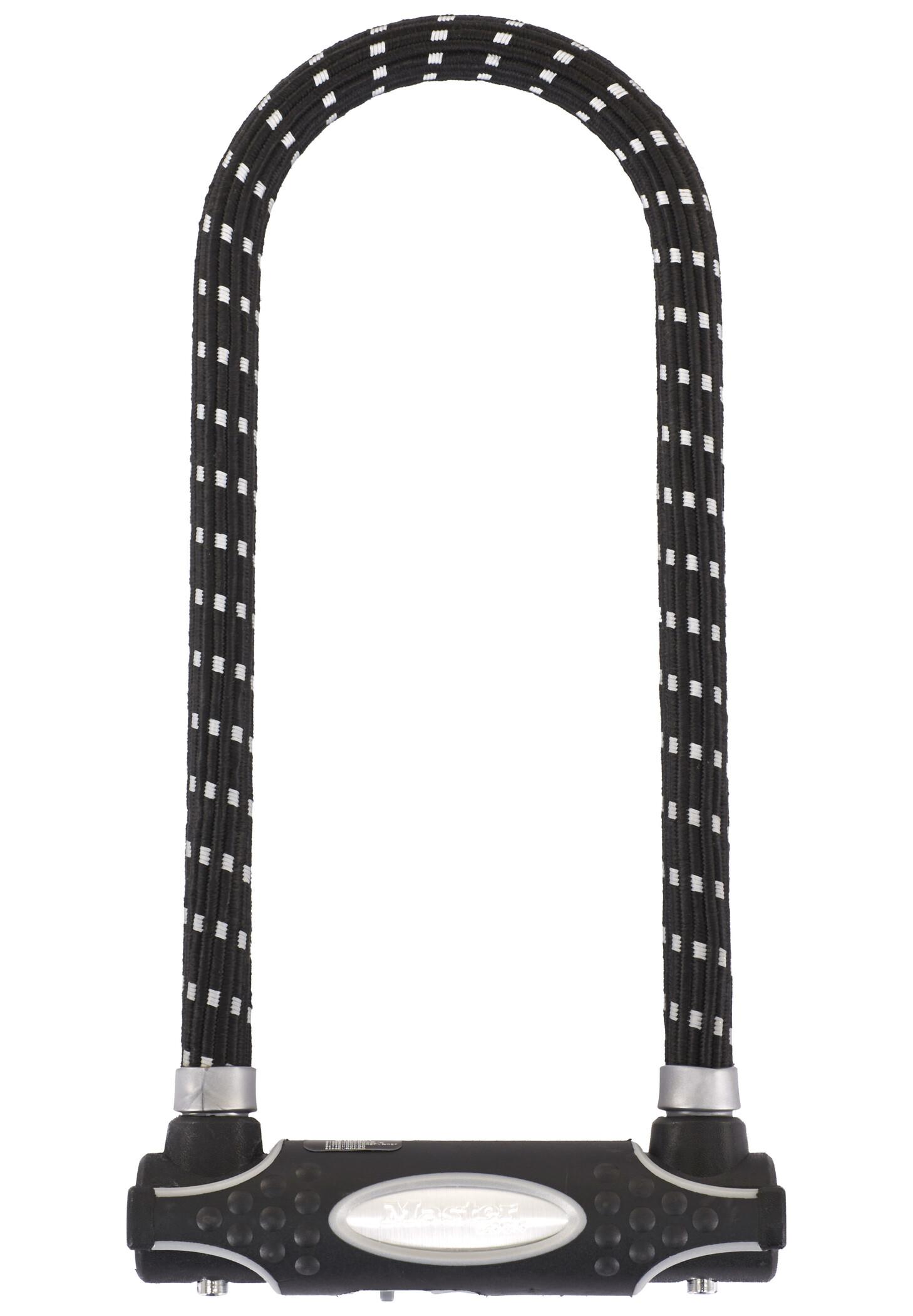 Masterlock 8195 U-Lock 13 mm x 280 mm x 110 mm, black/reflex (2019)   Løse låse