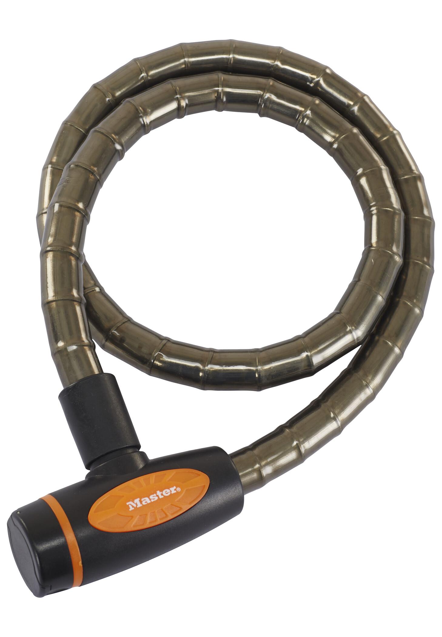 Masterlock 8228 PanzR Cable Lock 18 mm x 1.000 mm, deep grey (2019)   Løse låse
