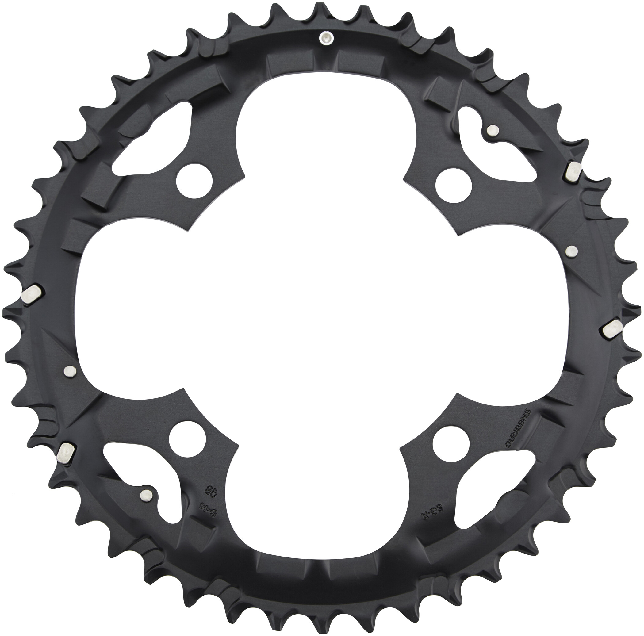 Shimano Deore FC-M590 Chain Ring 44 Cogs, black (2019) | chainrings_component